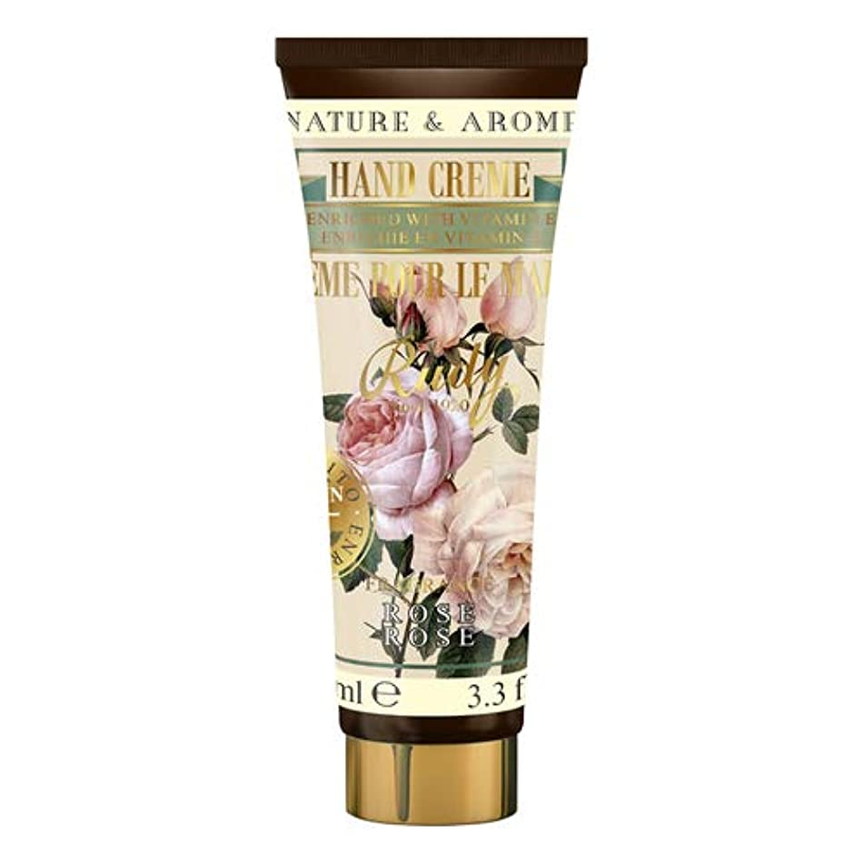 キラウエア山クリップ分離するRUDY Nature&Arome Apothecary ネイチャーアロマ アポセカリー Hand Cream ハンドクリーム Rose ローズ