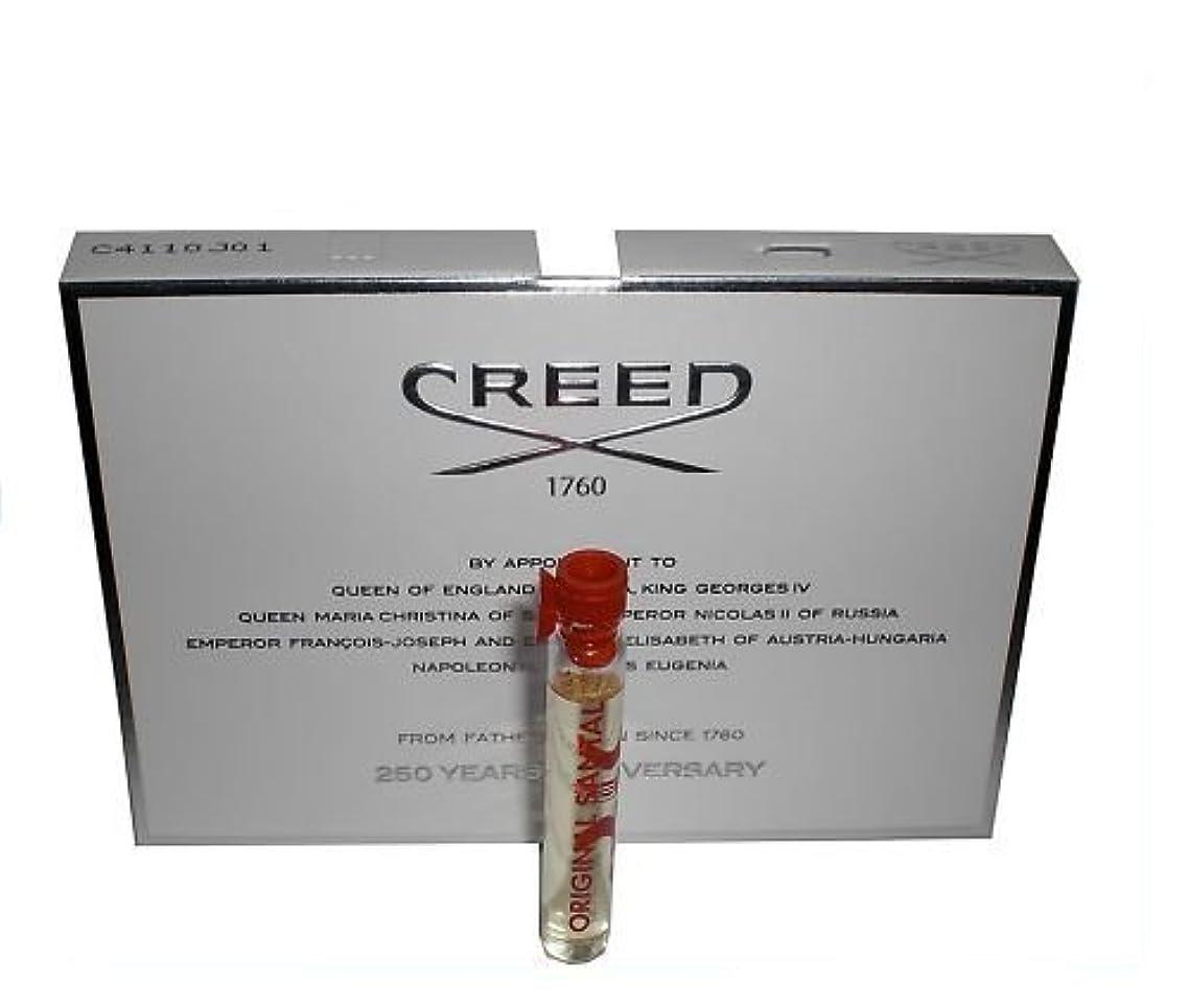 同行ボイド進捗Creed Original Santal (クリードオリジナルサンタル) 0.08 oz (2.5ml) サンプル Vial for Men