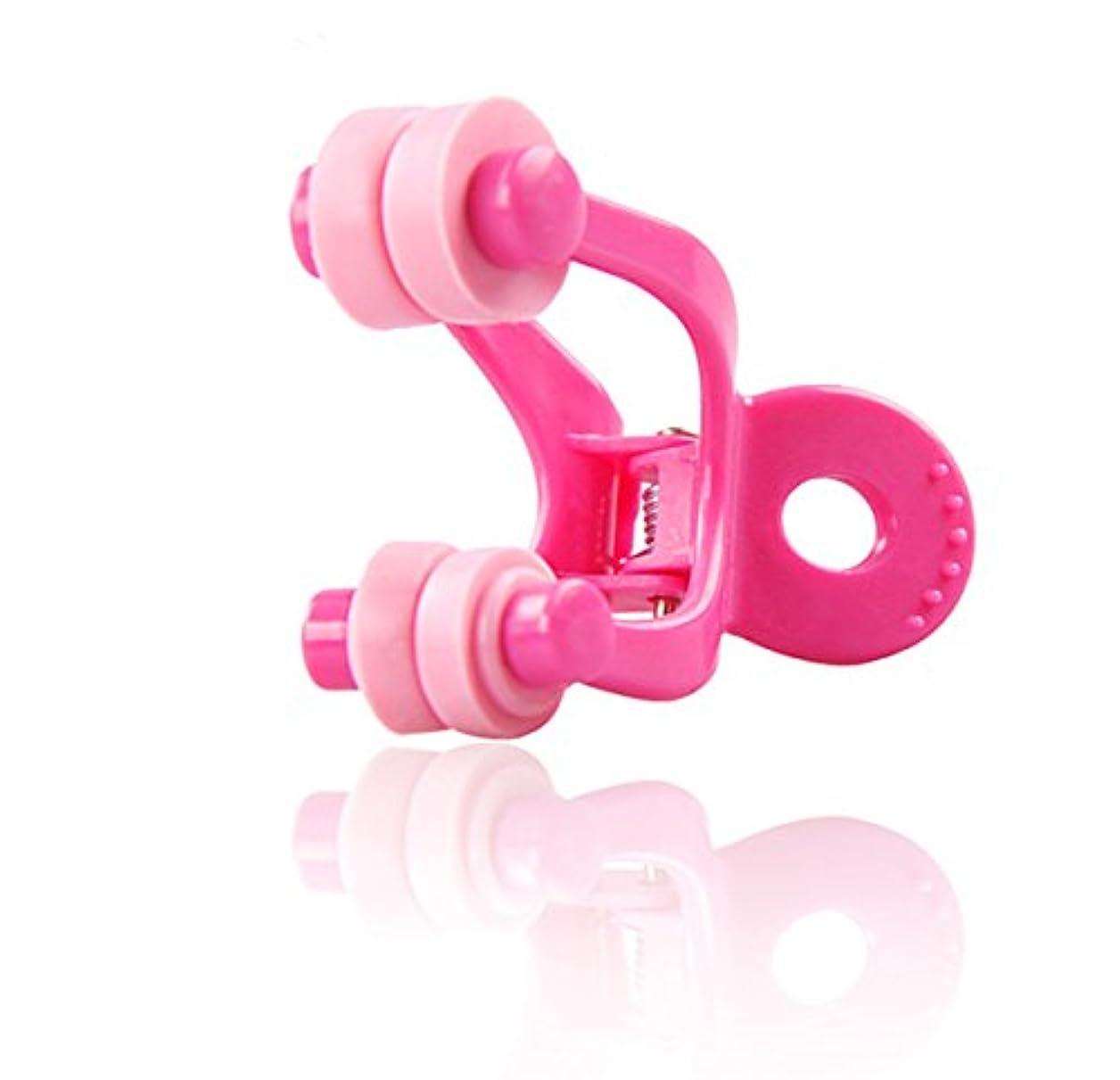 牛肉統合する配列clochette (クロシェ) 鼻筋クリップ マジックノーズ (ピンク)
