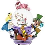 ディズニーDisney Alice Tea Party Snowglobe