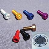 DURA-BOLT(デュラボルト) タンクキャップボルト アルミ 5本セット ブルー XJR400R 01-/YZF-R6/R1 01-/FZS1000/FJR1300 DBT002/2B