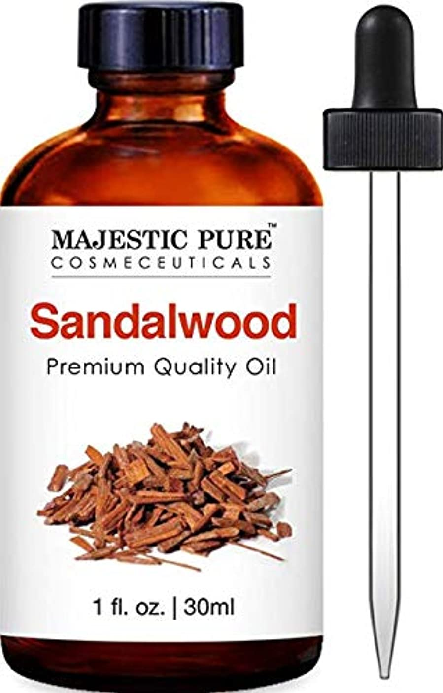 暴徒好きである深遠Sandalwood Oil, Premium Quality, 1 fl oz 30ml  サンダルウッドオイル