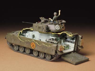 1/35 ミリタリーミニチュアシリーズ M2ブラッドレー歩兵戦闘車