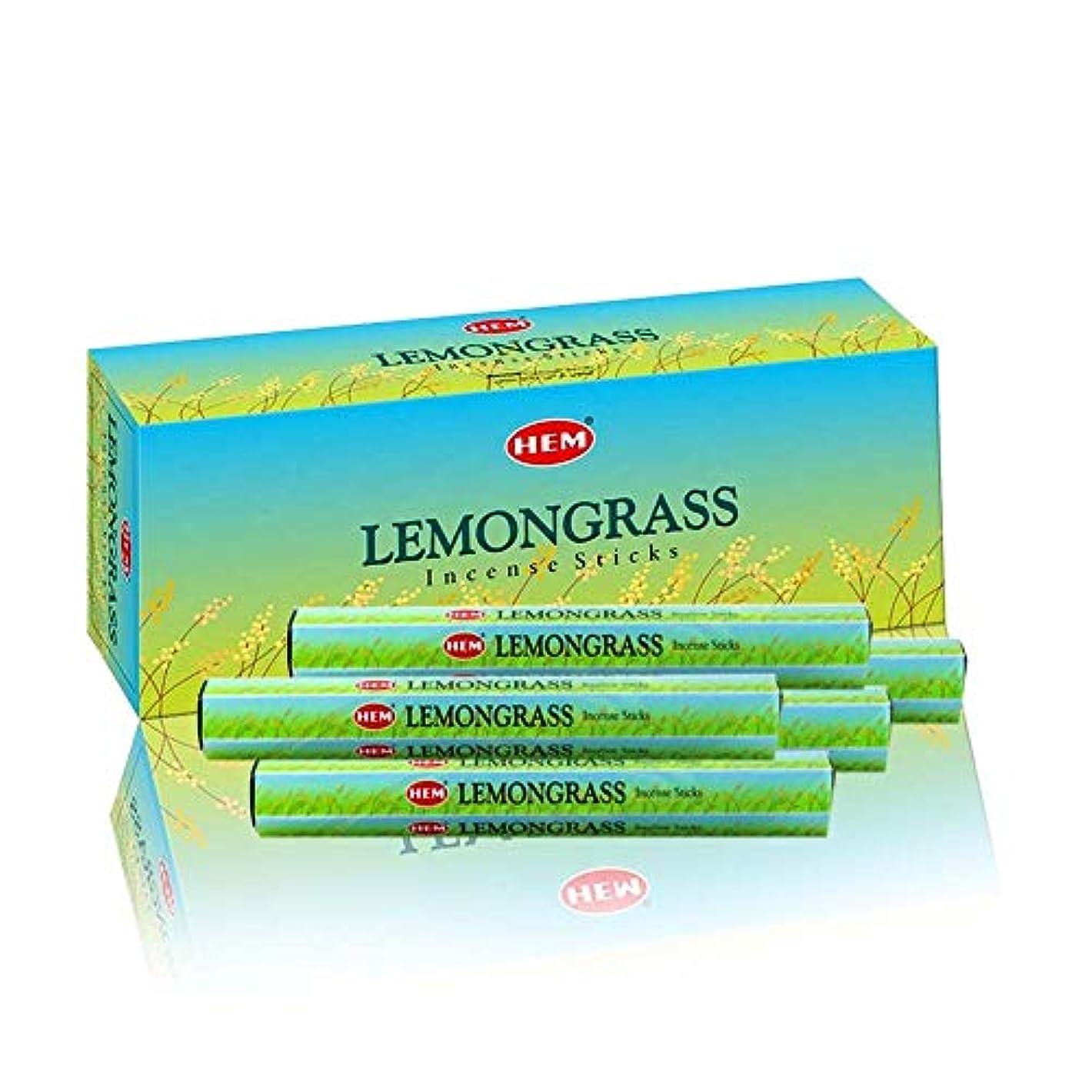 それから返済家事をするHEM Lemongrass 100 Incense Sticks (5 x 20 stick packs)
