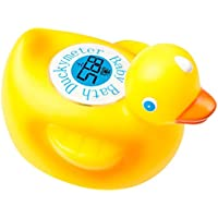 Duckymeter, the Baby Bath Floating Duck Toy and Bath Tub Thermometer [並行輸入品]