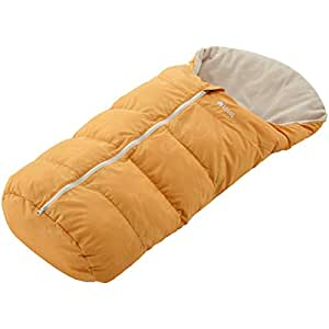 ロゴス 寝袋 ニュー丸洗いベビーカーシュラフ オレンジ