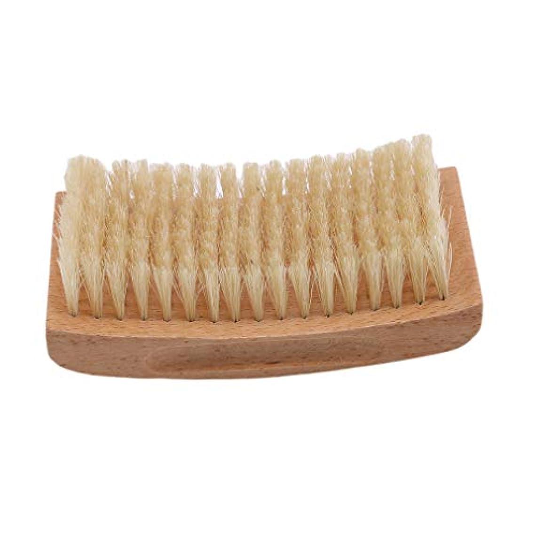 地中海優雅妨げるMODMHB ひげブラシ メンズ シェービングブラシ 毛髭ブラシ 木製 ヘア シェービングブラシ 髭剃り メンズ ポータブルひげ剃り美容ツール,2#
