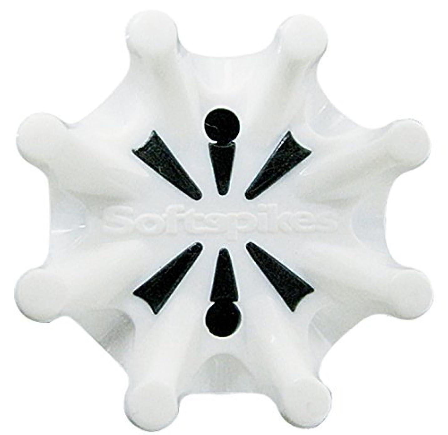 ピンチ耐えられないサーカスソフトスパイク Softspikes パルサー PINS(PINS専用) スパイク鋲 10個入 ホワイト×ブラック【あったらいーなすとあプレゼント ティー付き】
