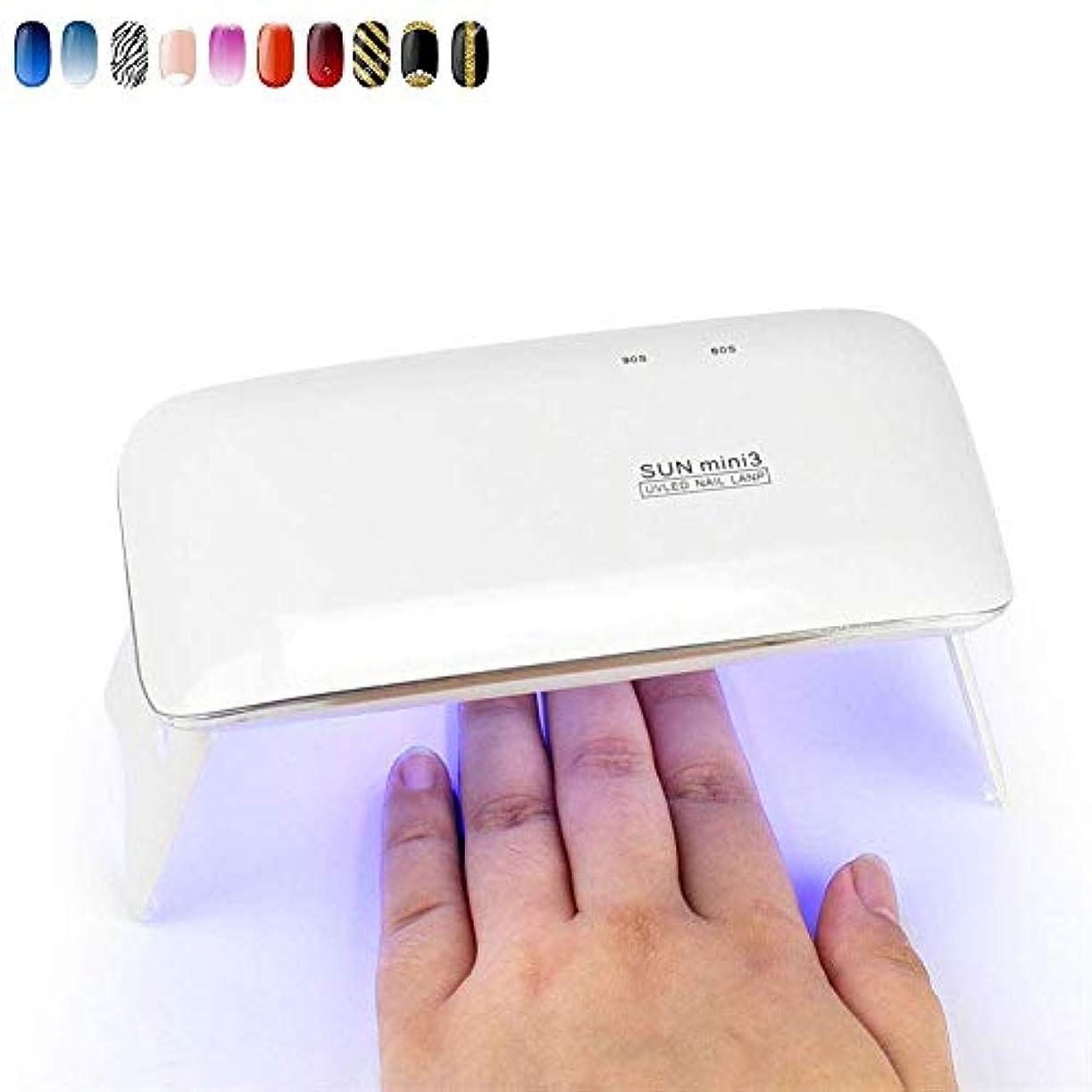 コンサルタント依存アナリストネイル用ランプとジェルポリッシュランプLEDミニネイルスタッドライト6W USB充電ネイルドライヤー高速硬化ジェルワニス
