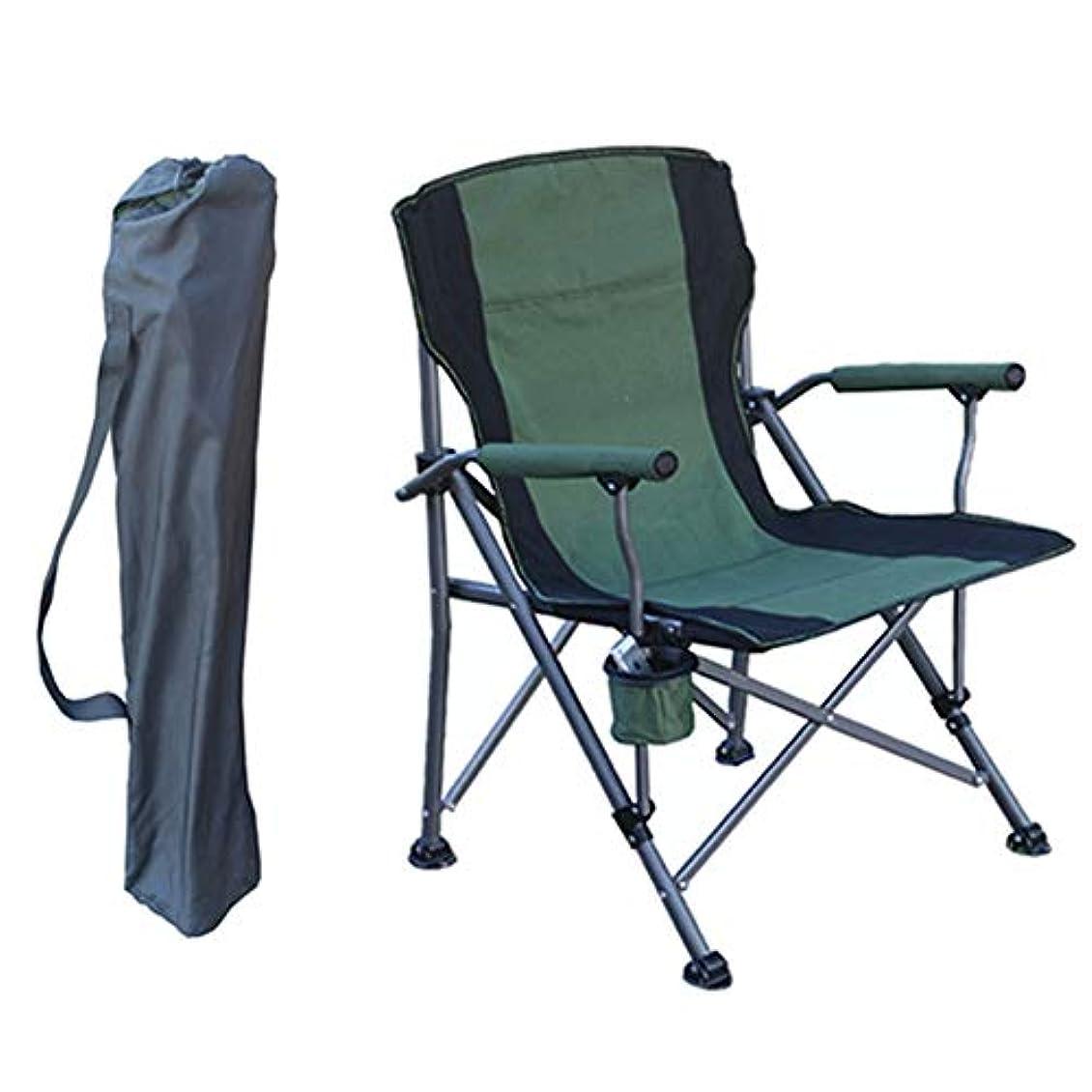 子供達カブフレームワーク携帯用キャンプチェアキャンプ、ビーチ、バックパッキング、アウトドアフェスティバルに最適コンパクト&キャリーバッグ付きオックスフォードクロス生地(重さ:300ポンド) - グリーン,A