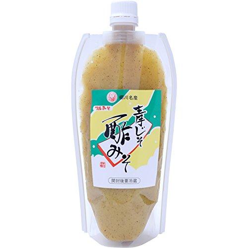 鶴味噌醸造 青じそ酢みそ チューブ 360g