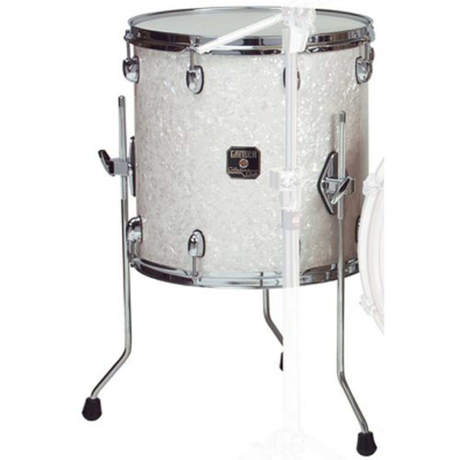 Gretsch Drums RN1-1414F-SW 14-Inch Drum Set Floor Tom Tom - Satin White [並行輸入品]