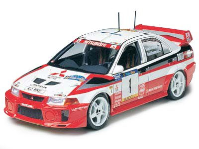 1/24 スポーツカー No.203 1/24 三菱 ランサー エボリューション V WRC 24203