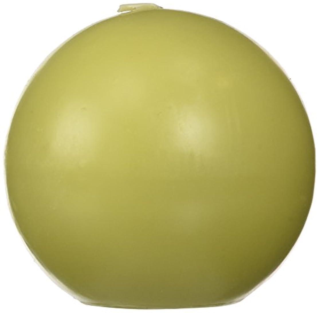 広々巧みな紀元前Zest Candle CBZ-032 4 in. Sage Green Ball Candles -2pc-Box