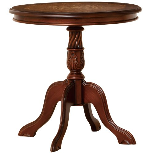 クロシオ マルシェ テーブル ブラウン アンティーク調テーブル