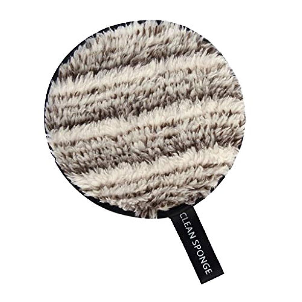 フィードオン瞳アーティキュレーションSM SunniMix メイク落としパッド フェイススポンジ 化粧スポンジ 全6色 - 白+褐色