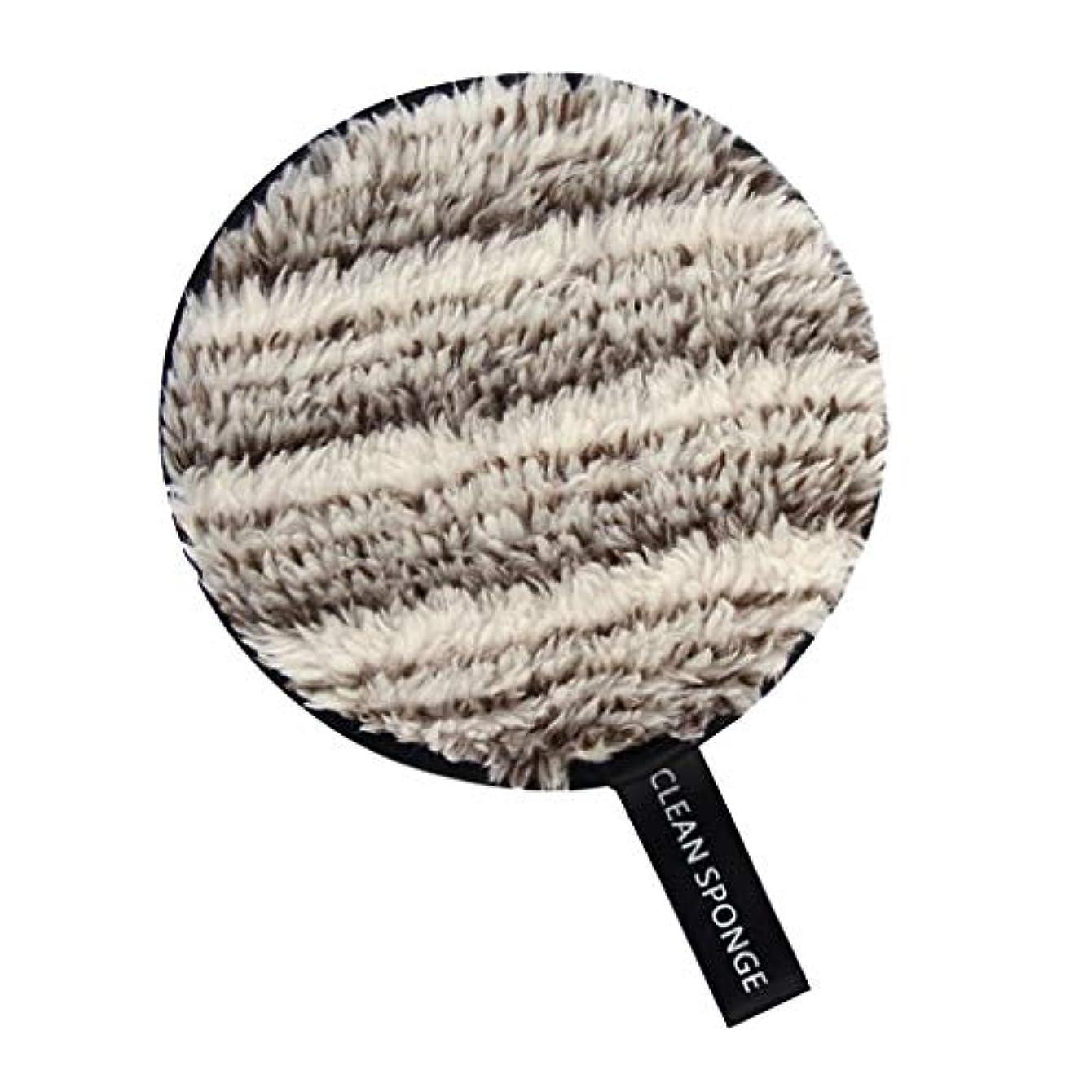 地震暴露解決するSM SunniMix メイク落としパッド フェイススポンジ 化粧スポンジ 全6色 - 白+褐色