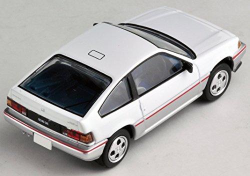 トミカリミテッドヴィンテージ ネオ 1/64 LV-N124d ホンダ バラードスポーツ CR-X (白/銀)