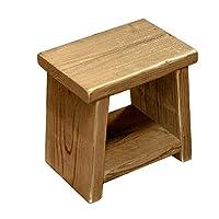OLD ASHIBA 踏み台 (飾り棚付き) 高さ300mm(30cm) 屋内用透明(とうめい)