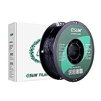 eSUN Flexible TPU 95A 3Dプリンター用FLEX弾性樹脂フィラメント素材 1kg 1.75mm径 精確度+/- 0.05mm、柔軟性も耐久性も優れる新型素材、だいぶの3Dプリンターが適用 (黒)
