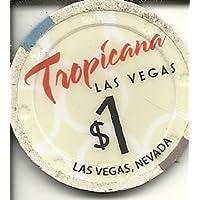 $ 1 TropicanaラスベガスカジノチップObsolete