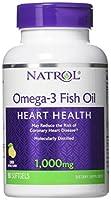 海外直送品Natrol (incl Laci Le Beau Teas) Omega-3 Fish Oil, 90 Softgels 1000 mg