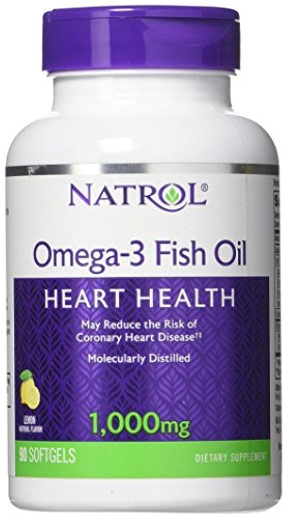 フルーツボーカル音声学海外直送品Natrol (incl Laci Le Beau Teas) Omega-3 Fish Oil, 90 Softgels 1000 mg