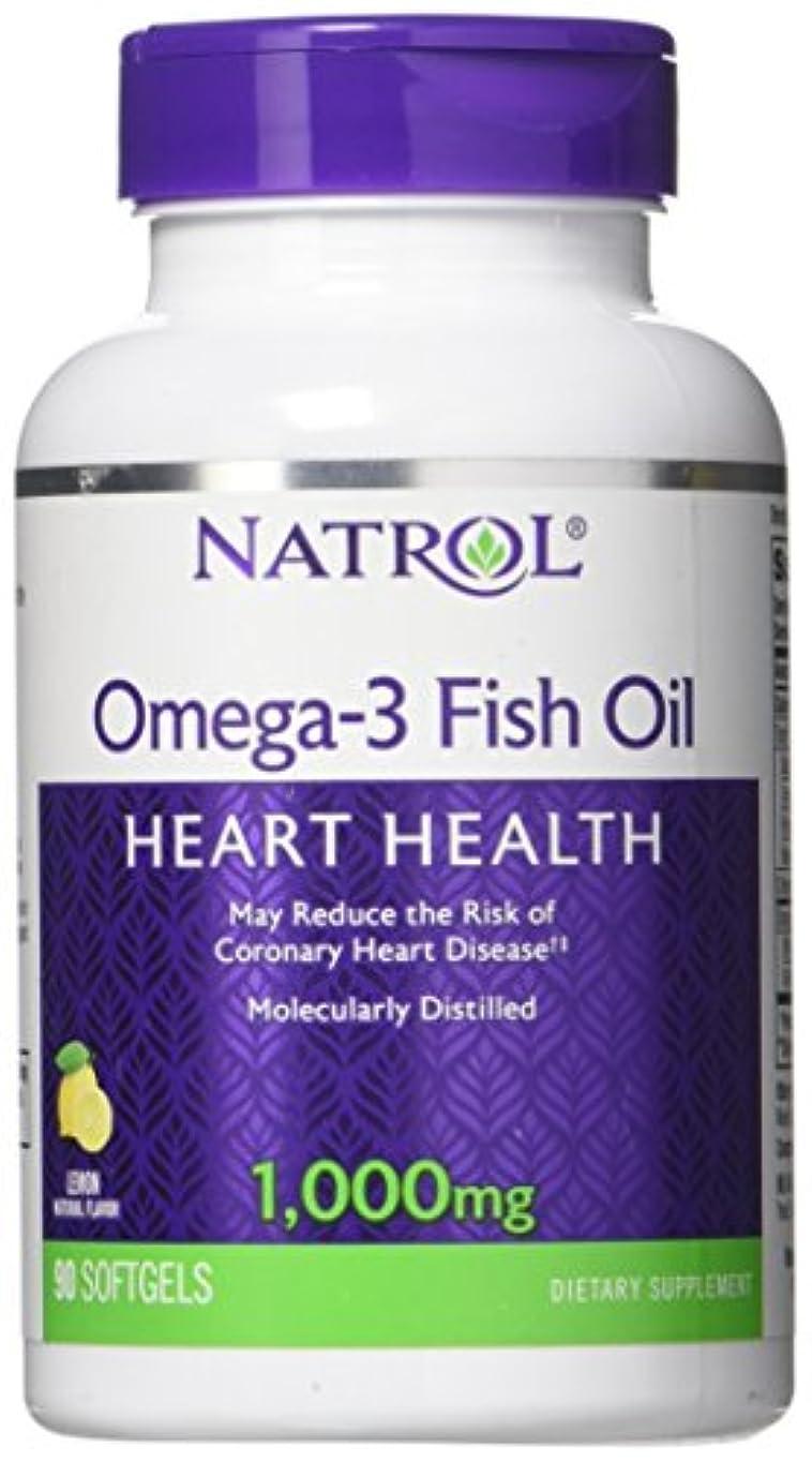 ラップ熱望するできれば海外直送品Natrol (incl Laci Le Beau Teas) Omega-3 Fish Oil, 90 Softgels 1000 mg