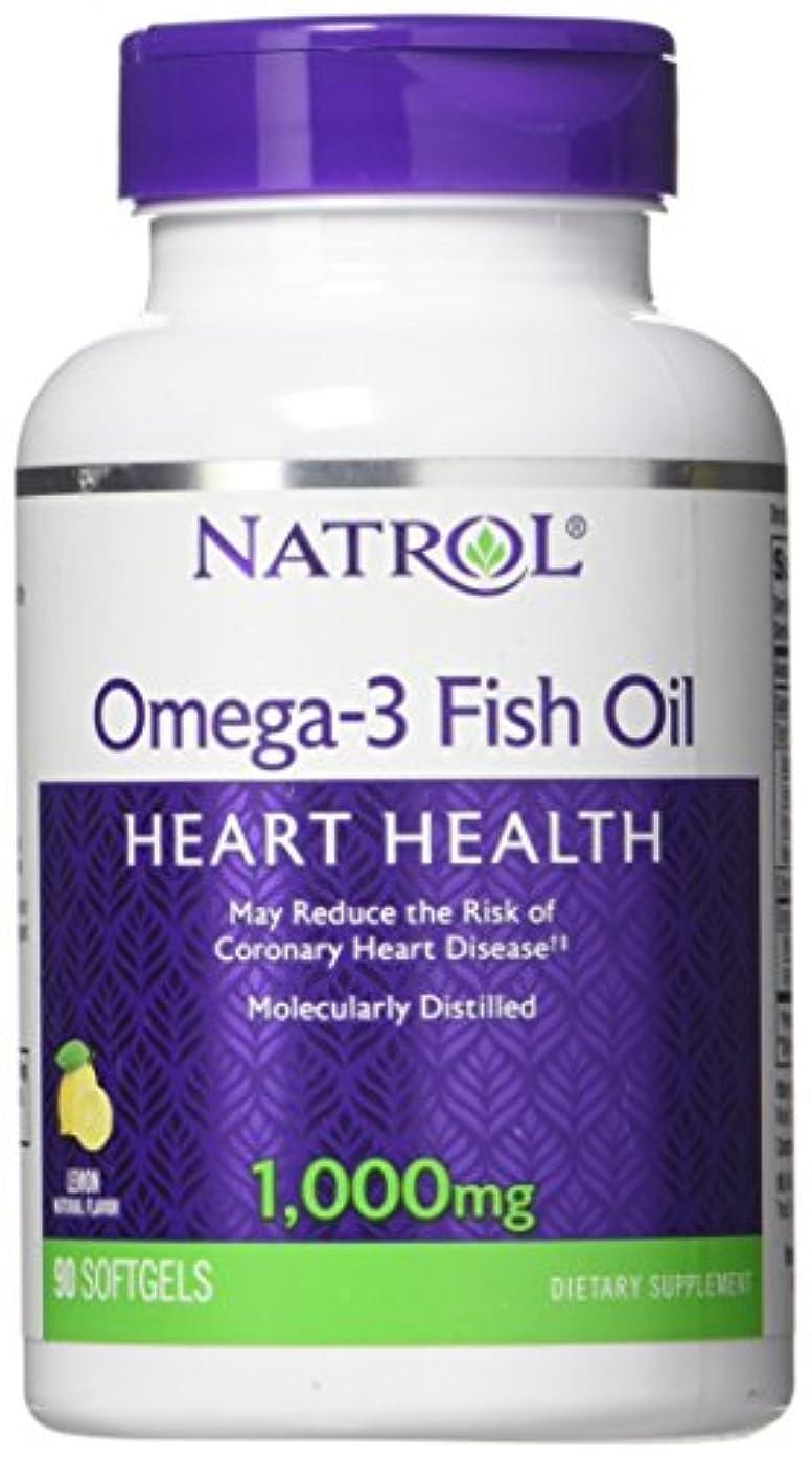 衝突ギャラントリーフォーマット海外直送品Natrol (incl Laci Le Beau Teas) Omega-3 Fish Oil, 90 Softgels 1000 mg