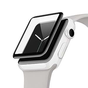belkin ScreenForce® UltraCurveスクリーンプロテクター(Apple Watch シリーズ3/2、42mm) [国内正規品] F8W840QE-A