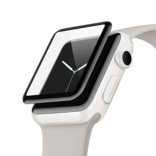 [해외]belkin ScreenForce® UltraCurve 화면 보호기 (Apple Watch 시리즈 2~42mm) [국내 정품] F8W840QE-A F8W840QE-A/belkin ScreenForce® UltraCurve screen protector (Apple Watch series 2~ 42 mm) [Domestic genuine products] F8W 840 QE-A F8W 8...