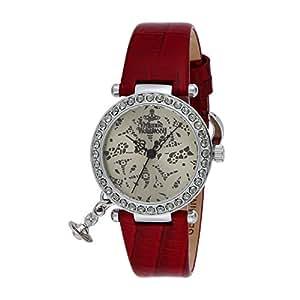 [ヴィヴィアン・ウエストウッド]VivienneWestwood 腕時計 オーブ シャンパンゴールド文字盤 VV006SLRD レディース 【並行輸入品】
