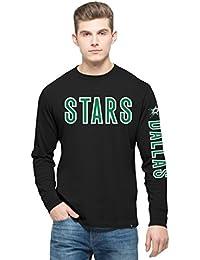 NHLメンズ' 47 Crosstownチーム長袖Tシャツ