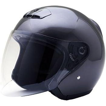 ネオライダース (NEO-RIDERS) MA03 オープンフェイス シールド付 ジェット ヘルメット ガンメタ XLサイズ 61-62cm未満 SG/PSC MA03
