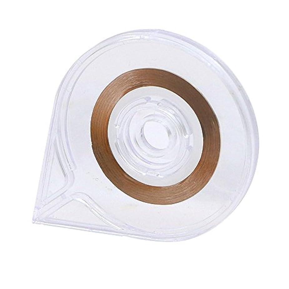ワームきらめき肩をすくめるSODIAL(R) ネイルアート ストライピングテープラインケースツールステッカーボックスホルダー 使いやすいデザイン