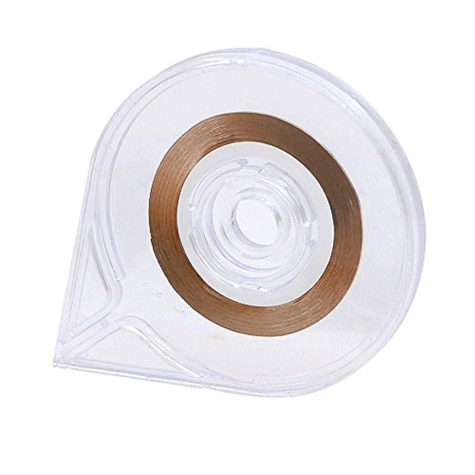 手紙を書く余分な一貫したSODIAL(R) ネイルアート ストライピングテープラインケースツールステッカーボックスホルダー 使いやすいデザイン