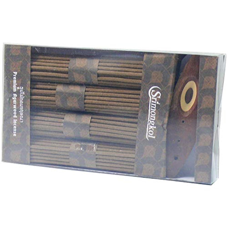鉱夫解放する福祉Premuim Agarwood Natural Incense Cones 200 Grams (No Chemical) :プレミアムアガーウッドナチュラル香コーン200グラム(化学薬品なし)