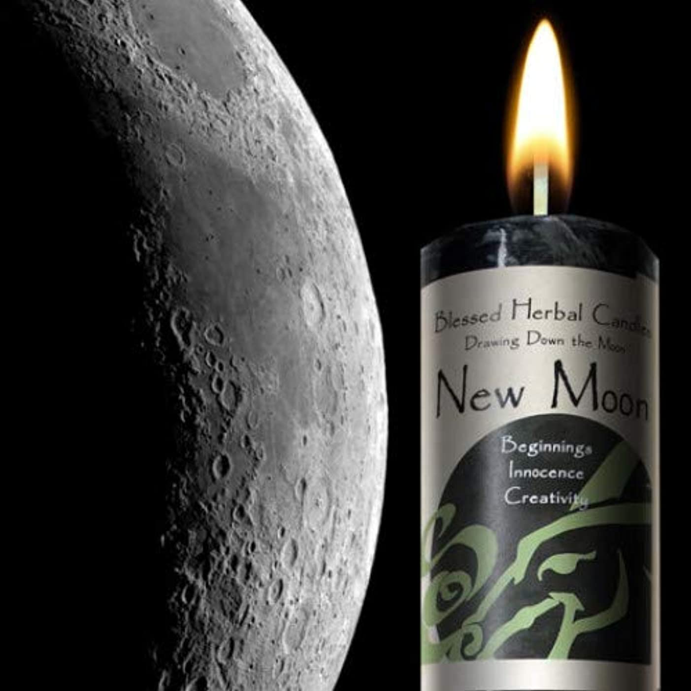 図面Down theムーン – New Moon