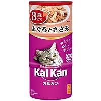 カルカン ハンディ缶 高齢猫用 8歳から まぐろとささみ 160g×3缶×18個 [キャットフード]