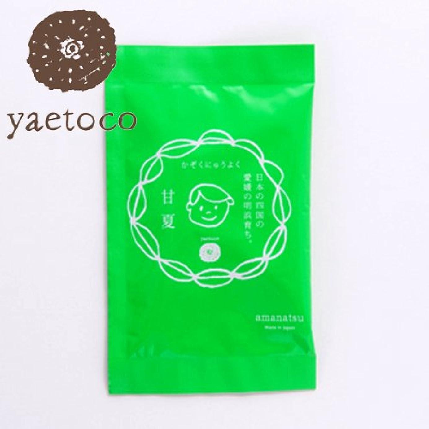 繰り返した版熱狂的なヤエトコ 家族入浴料甘夏の香り 50g