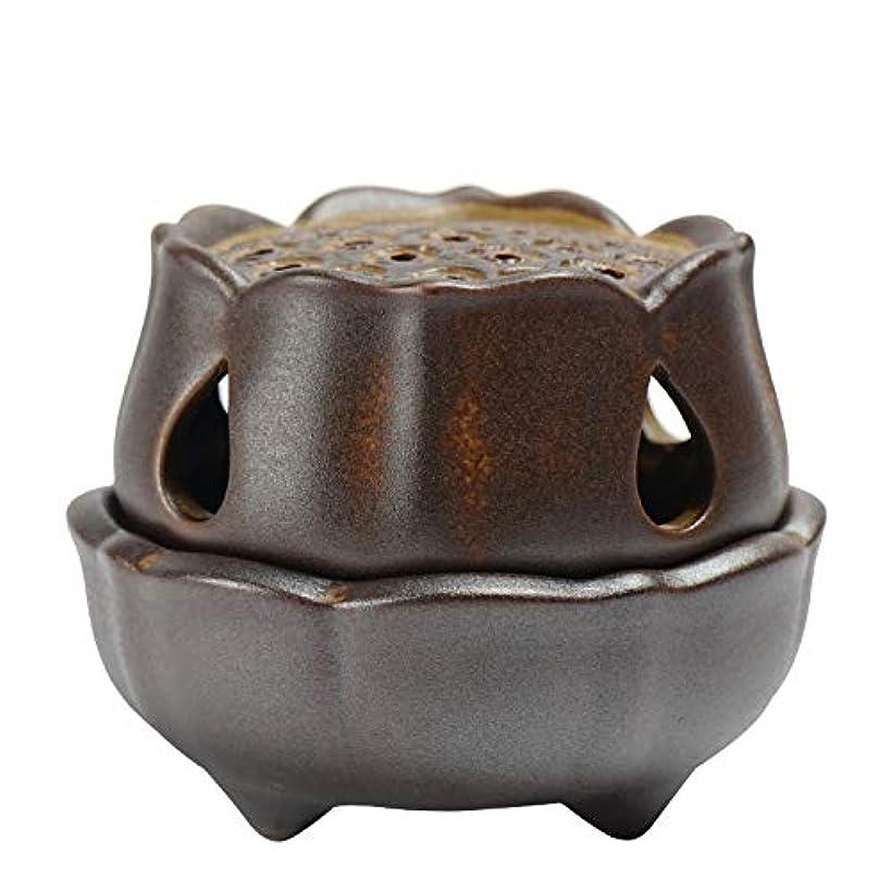答え邪悪なマキシム仏の香のアロマセラピー炉9.5 * 8 * 7.3cmのための滝の背部香の棒家族の芳香バーナーの還流の蝋燭の棒の陶磁器