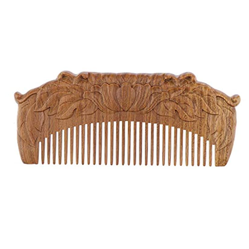 透過性ストラップ四面体木製櫛 ヘアコーム ヘアブラシ 天然木 手作り プレゼント