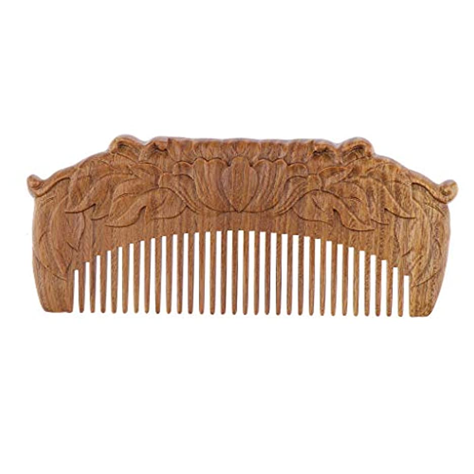 B Blesiya 木製櫛 ヘアコーム ヘアブラシ 天然木 手作り プレゼント