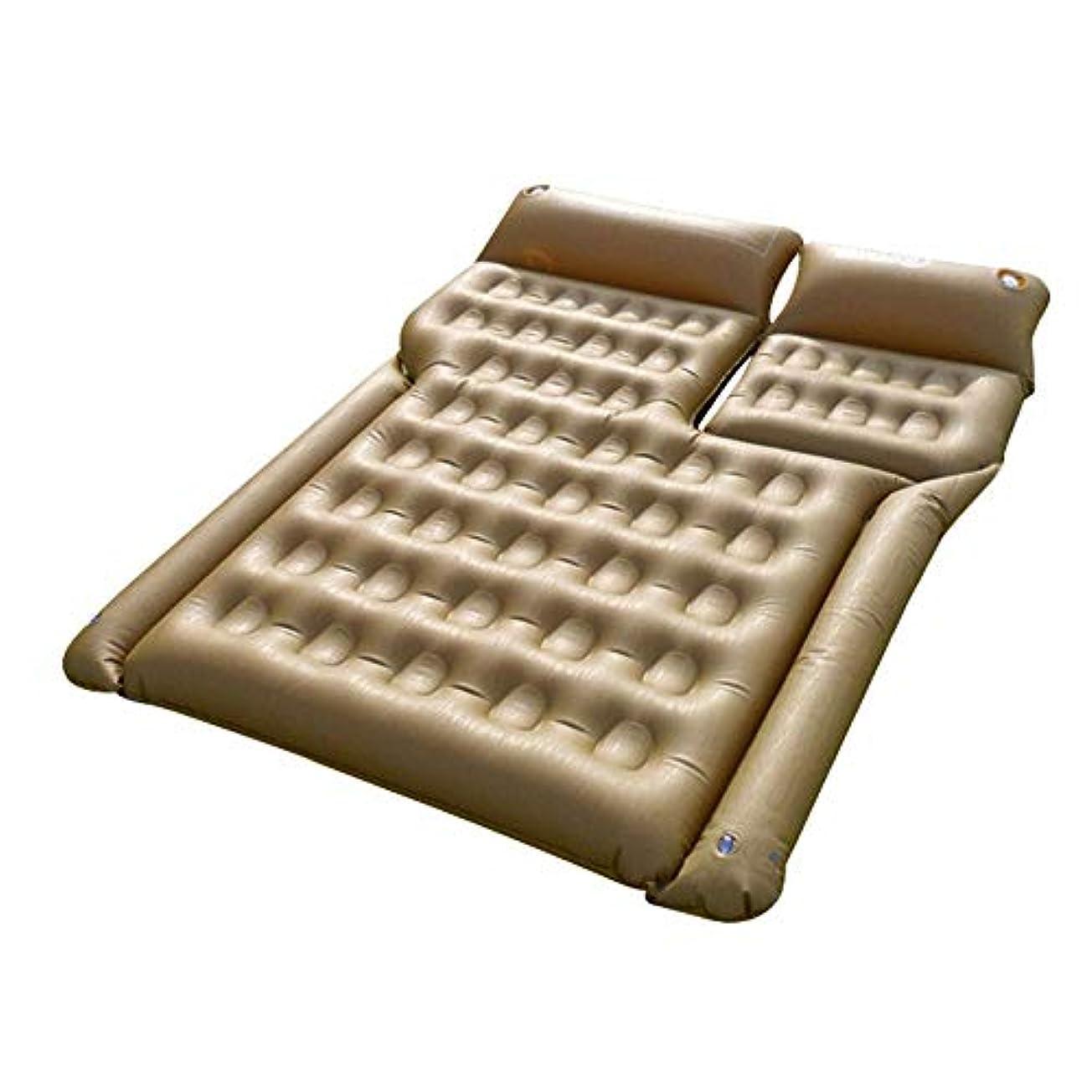 カートン潮バンFeelyer エアマットレスポータブル寝台車のマットレス多機能旅行睡眠パッドほとんどのモデルに適して 顧客に愛されて (色 : 緑, サイズ : 180cm*145*22cm)