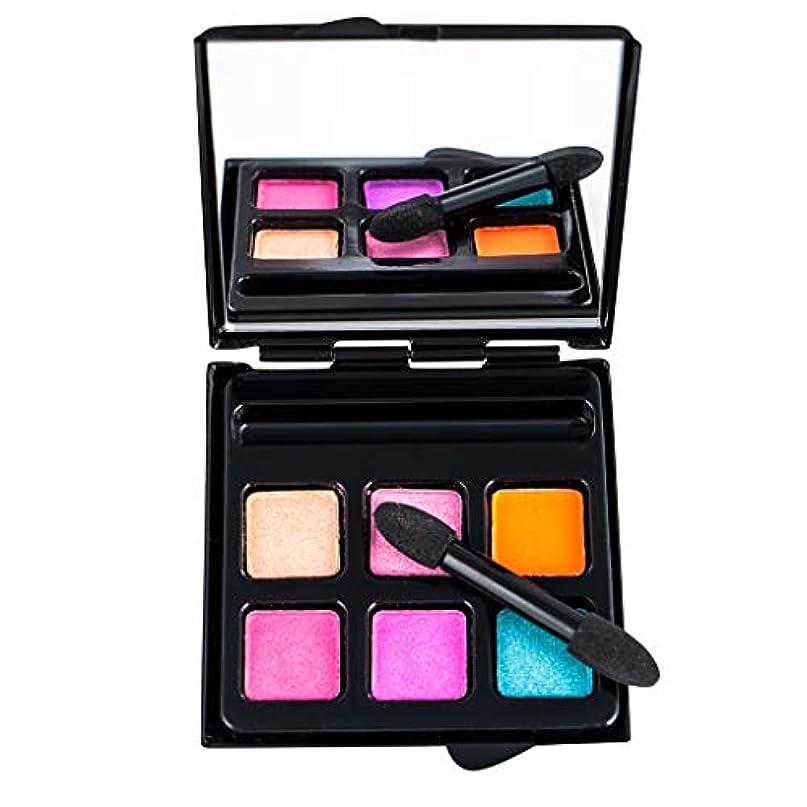 インタビューパトロン作成するGOOD lask 6色アイシャドウ、化粧品マットアイシャドークリームメイクアップシマーセット