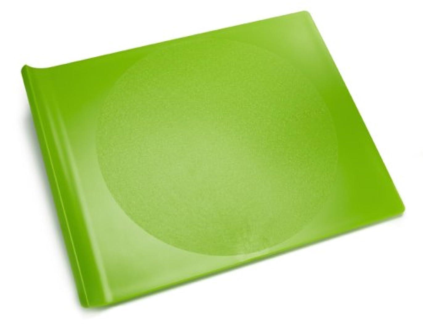 配列恐竜連結する海外直送品Cutting Board Plastic, Large Apple Green 1 CT by Preserve