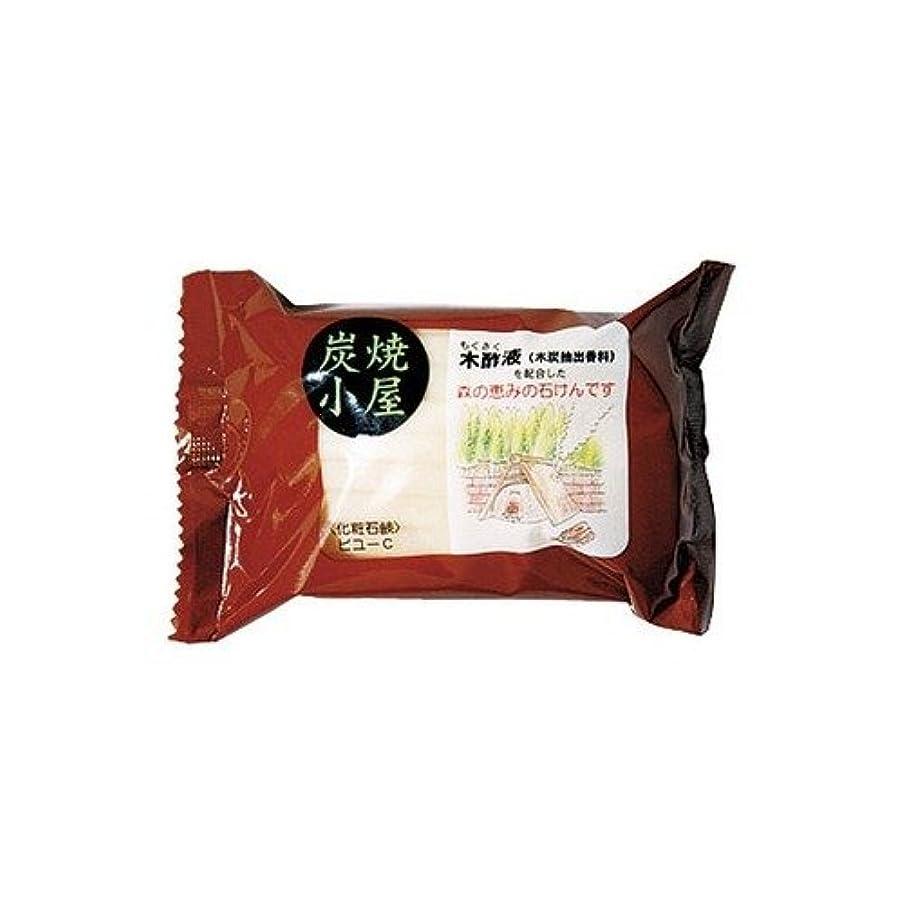 ページオゾン麺カネヨ 炭焼小屋 石鹸 110g