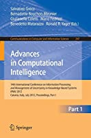 Advances in Computational Intelligence, Part I (Communications in Computer and Information Science)