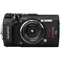 OLYMPUS デジタルカメラ  Tough TG-5 ブラック 1200万画素CMOS F2.0 15m 防水 100kgf耐荷重 GPS+電子コンパス&内蔵Wi-Fi TG-5 BLK