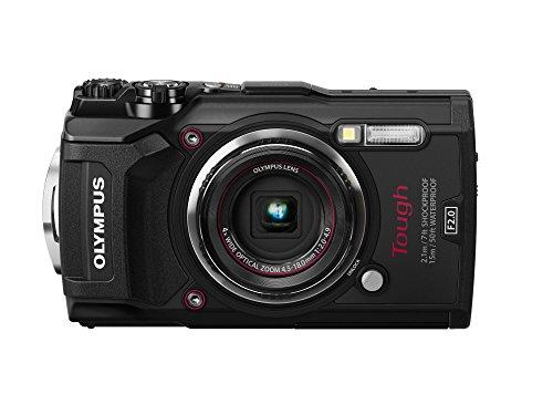 OLYMPUS デジタルカメラ  Tough TG-5 ブラック 1200万画素CMOS F2.0 15m 防水 100kgf耐荷重 GPS+電子コンパス&内蔵Wi-Fi TG-5 BLK -